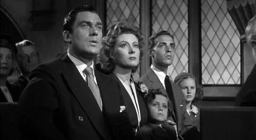 The cast of Mrs. Miniver