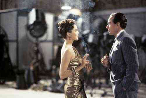 Annette Bening & Warren Beatty in Bugsy