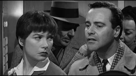 Shirley MacLaine & Jack Lemmon in The Apartment