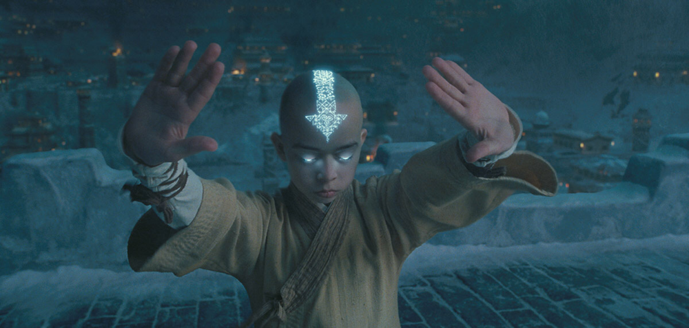 Noah Ringer in The Last Airbender