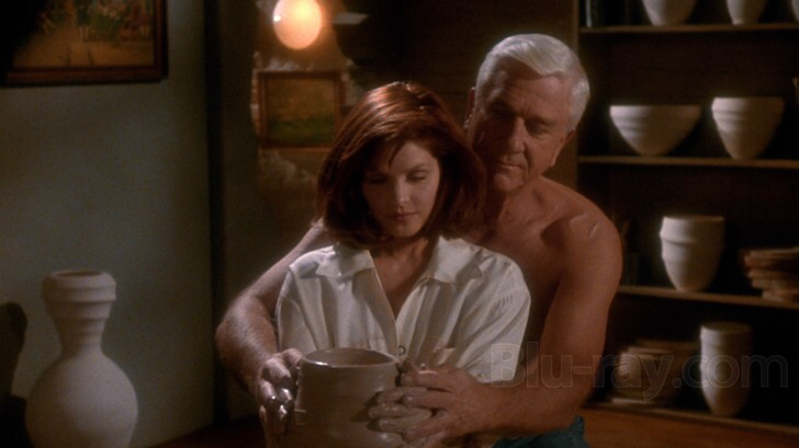 Priscilla Presley & Leslie Nielsen in The Naked Gun 2 & a 1/2