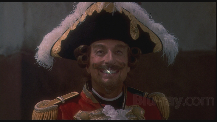 John Neville in The Adventures of Baron Munchausen
