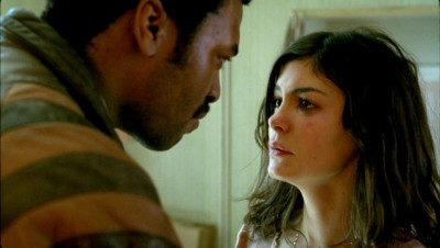Chiwetel Ejiofor & Audrey Tautou in Dirty Pretty Things
