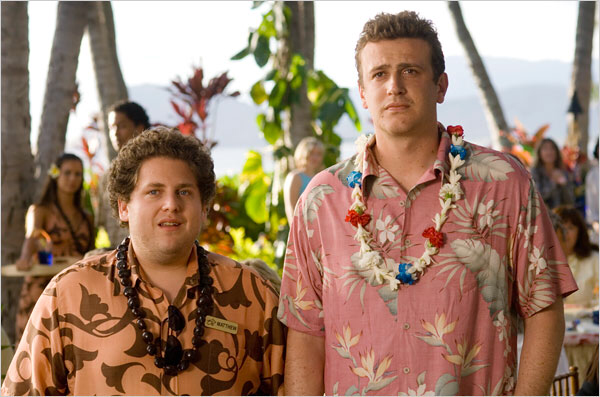 Jonah Hill & Jason Segel in Forgetting Sarah Marshall