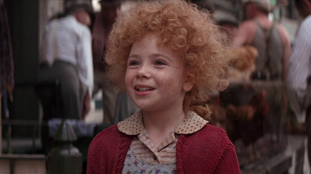 Aileen Quinn in Annie