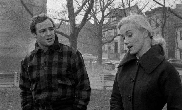 Marlon Brando & Eva Marie Saint in On the Waterfront