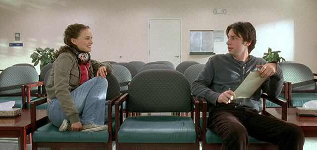 Natalie Portman & Zach Braff in Garden State