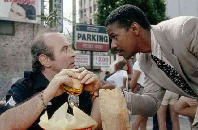 Bob Hoskins & Denzel Washington in Heart Condition