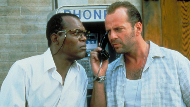 Samuel L. Jackson & Bruce Willis in Die Hard: With A Vengeance