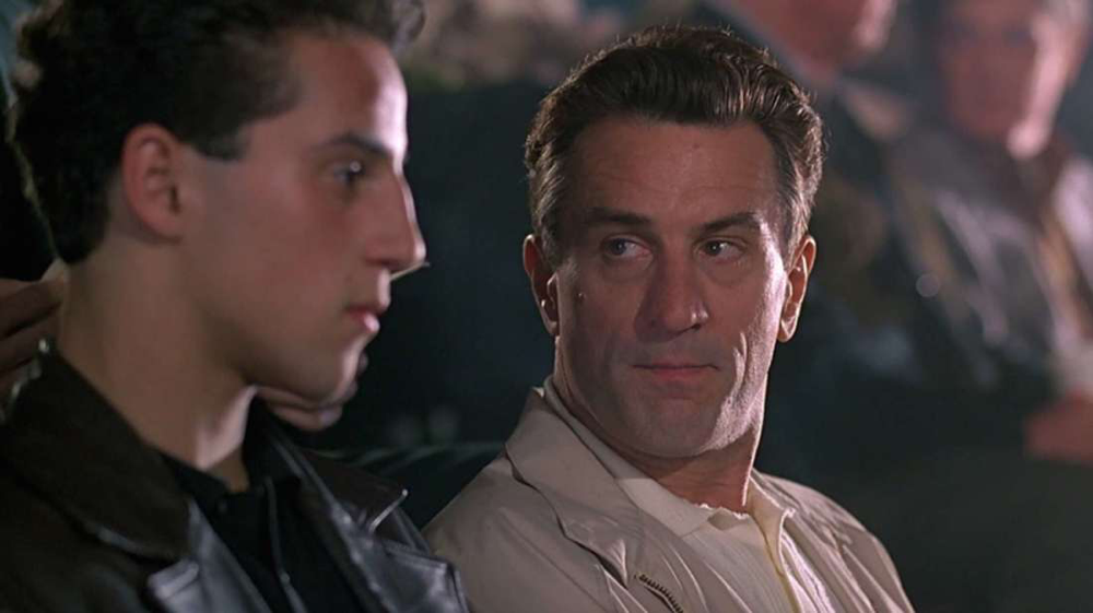 Lillo Brancato & Robert DeNiro in A Bronx Tale