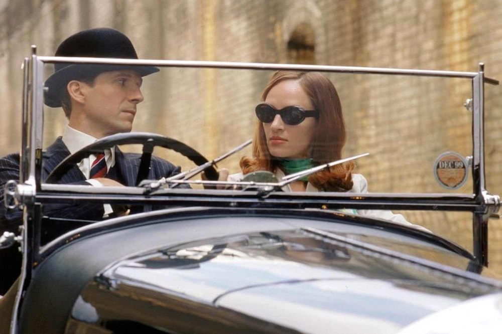 Ralph Fiennes & Uma Thurman in The Avengers