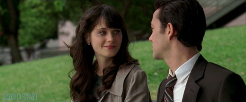 Zooey Deschanel & Joseph Gordon-Levitt in (500) Days of Summer