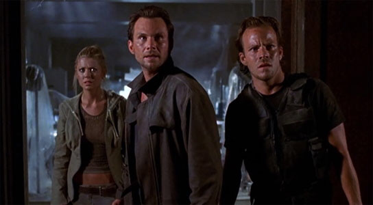 Tara Reid, Christian Slater & Stephen Dorff in Alone In The Dark