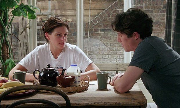 Julia Roberts & Hugh Grant in Notting Hill