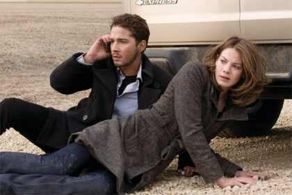 Shia LaBeouf & Michelle Monaghan in Eagle Eye