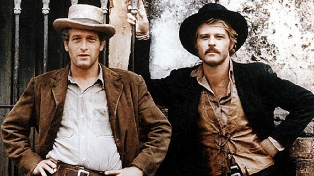 Paul Newman & Robert Redford in Butch Cassidy & The Sundance Kid