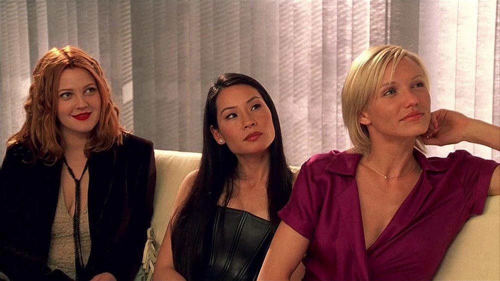 Drew Barrymore, Lucy Liu & Cameron Diaz in Charlie's Angels (2000)