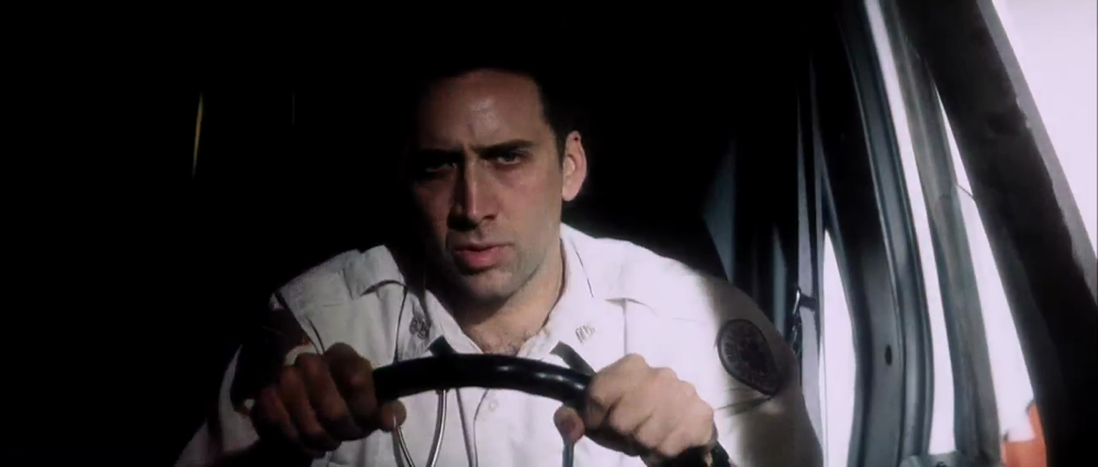 Nicolas Cage in Bringing Out the Dead