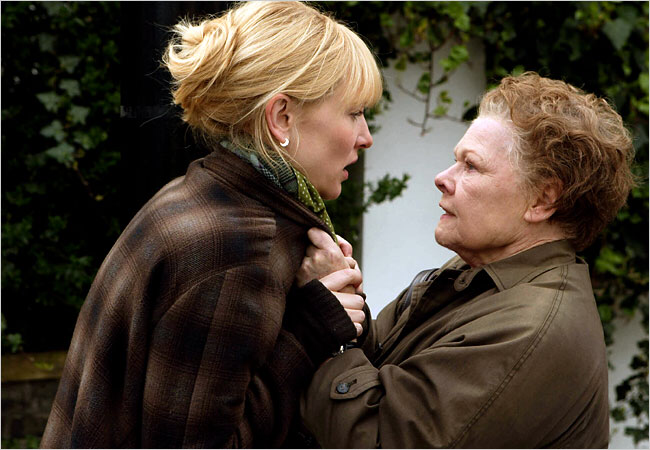 Cate Blanchett & Judi Dench in Notes on a Scandal