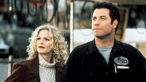 Kyra Sedgwick & John Travolta in Phenomenon