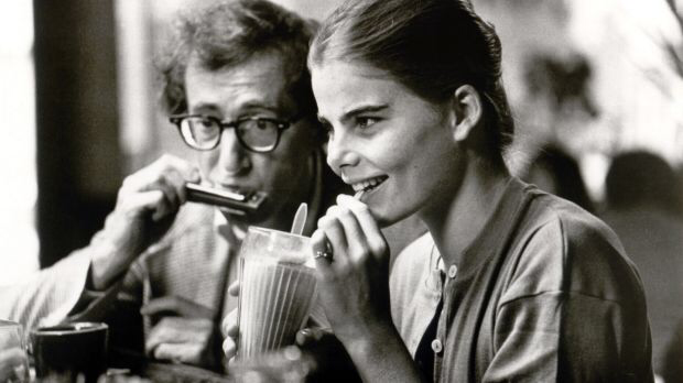 Woody Allen & Mariel Hemingway in Manhattan