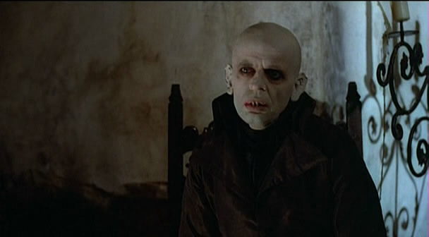 Klaus Kinski in Nosferatu: Phantom of the Night