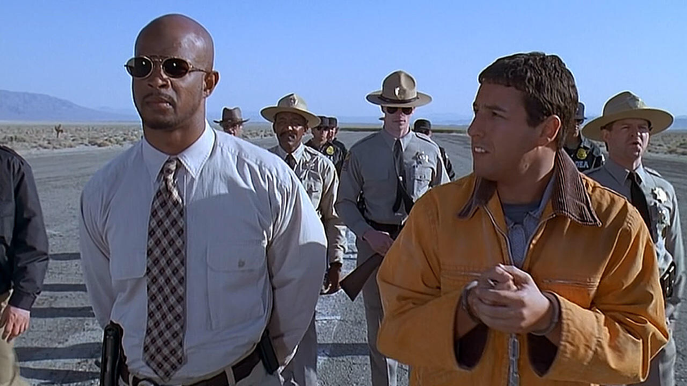 Damon Wayans & Adam Sandler in Bulletproof