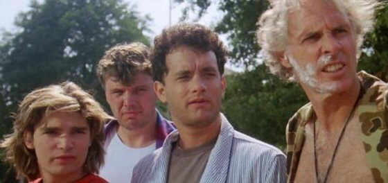 The cast of The 'Burbs