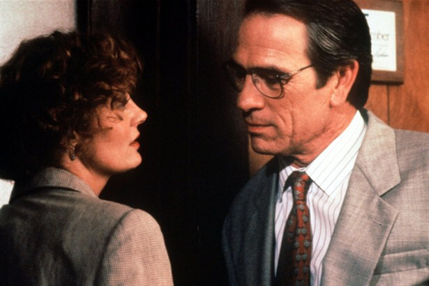 Susan Sarandon & Tommy Lee Jones in The Client