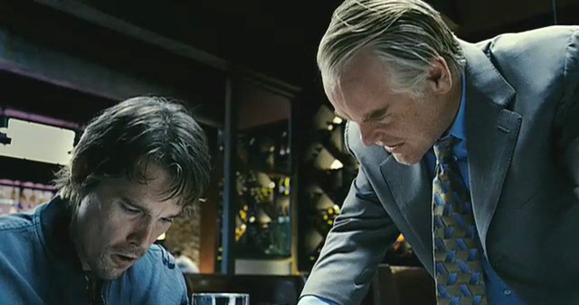 Ethan Hawke & Philip Seymour Hoffman in Before The Devil Knows You're Dead