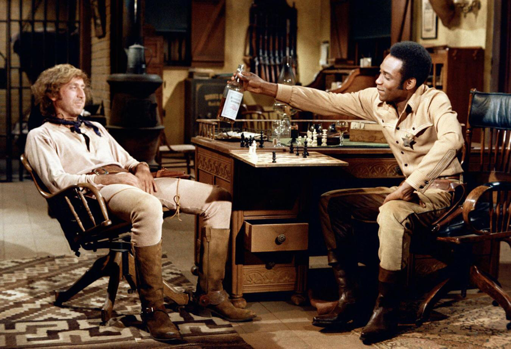 Gene Wilder & Cleavon Little in Blazing Saddles