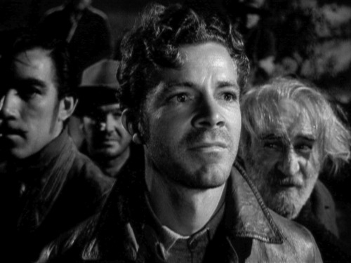 Dana Andrews in The Ox-Bow Incident