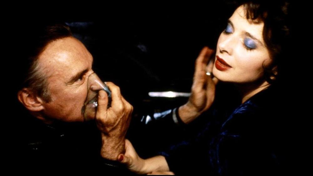 Dennis Hopper & Isabella Rossellini in Blur Velvet