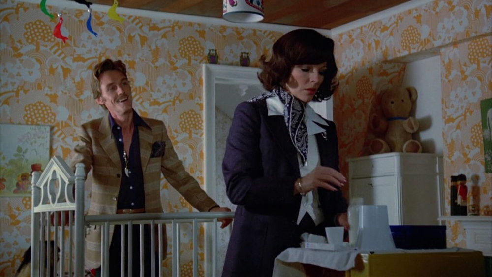 John Steiner & Joan Collins in I Don't Want To Be Born