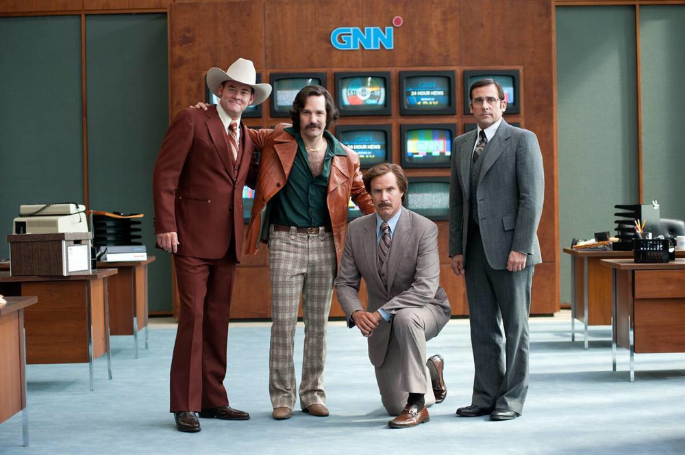 The cast of Anchorman 2: The Legend Continues