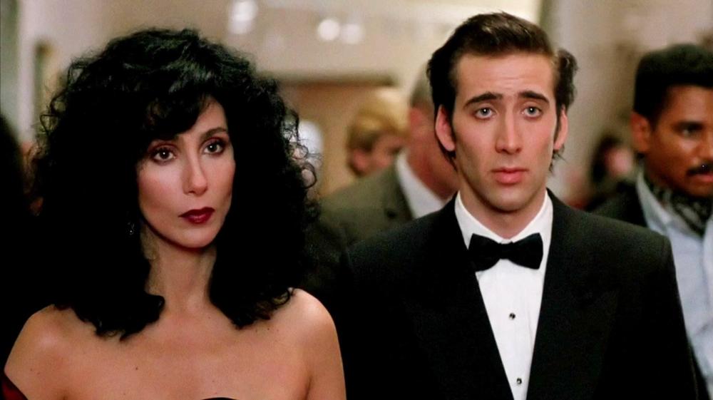 Cher & Nicolas Cage in Moonstruck