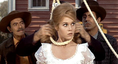Jane Fonda in Cat Ballou