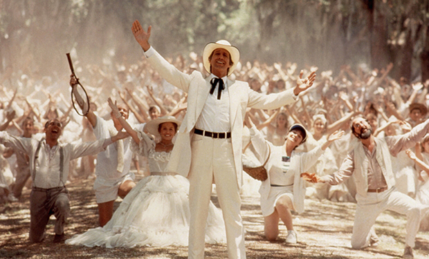 Chevy Chase in Fletch Lives