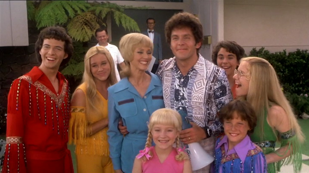 The cast of The Brady Bunch Movie