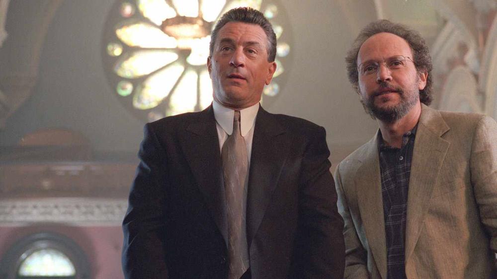 Robert de Niro & Billy Crystal in Analyze This