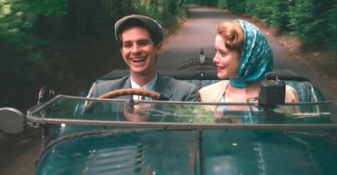 Andrew Garfield & Claire Foy in Breathe