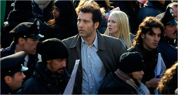 Clive Owen & Naomi Watts in The International
