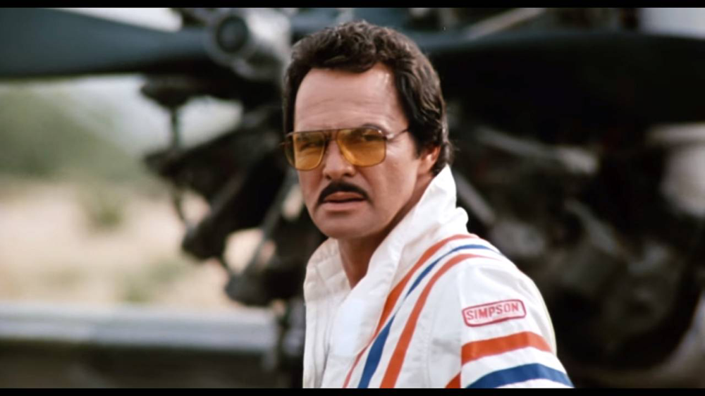 Burt Reynolds in Cannonball Run II