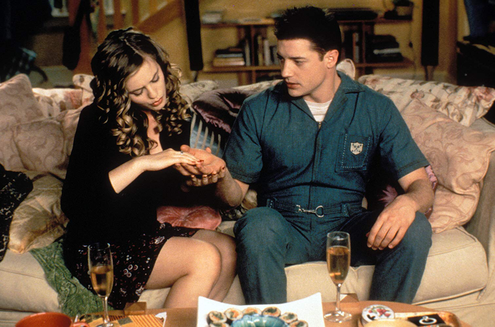 Alicia Silverstone & Brendan Fraser in Blast From The Past