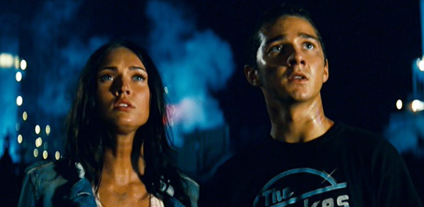 Megan Fox & Shia LaBeouf in Transformers
