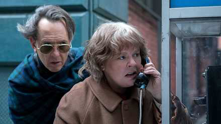 Richard E. Grant & Melissa McCarthy In Can You Ever Forgive Me?