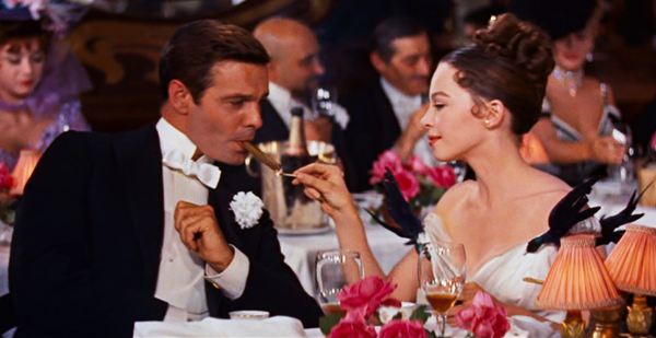 Louis Jourdan & Leslie Caron in Gigi