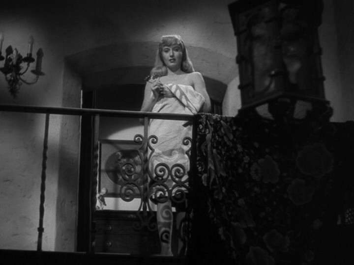 Barbra Stanwyck in Double Indemnity