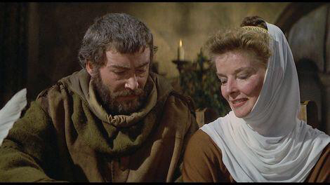 Peter O'Toole & Katharine Hepburn in The Lion in Winter