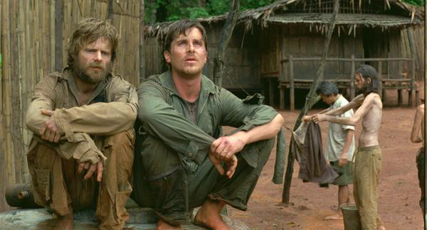 Steve Zahn & Christian Bale in Rescue Dawn